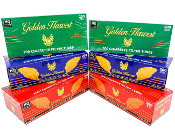 Golden Harvest Tubes Blue 100 200 ct