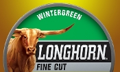 Longhorn Wintergreen Fine Cut 5-Cans