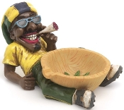 JAMAICAN ASHTRAY STYLE 2