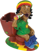 JAMAICAN ASHTRAY STYLE 6
