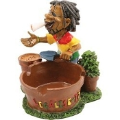 JAMAICAN ASHTRAY STYLE 8