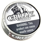Grizzly Snuff 5-Cans