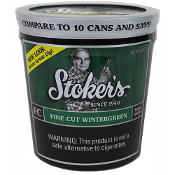 Stoker FC Wintergreen Moist Snuff 12oz Tub