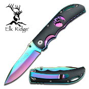 3.5 inch rainbow folder blk handle