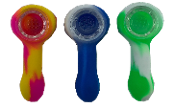 3 inch Silicone Hand Pipe Glass bowl