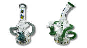 "7"" Rick and Morty Recycler Waterpipe"