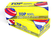 Top Cigarette Tubes - Gold 100mm x5