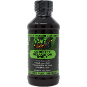 Hemp Bombs CBD Fruit Punch Relaxation Syrup 300mg 4oz