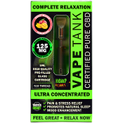 Hemp Bombs Sweet Mango Seduction CBD Vape Tank 125mg 1ml