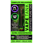 Hemp Bombs CBD Wild Blueberry Jam Vape Tank 125mg 1ml