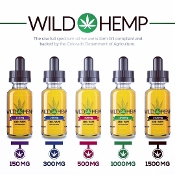 Wild Hemp CBD Tincture/Vape 1000mg 30ml