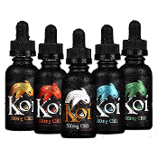 Koi Blue Raspberry Dragonfruit Vape 1000mg 30ml