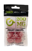 Good CBD Fruit Drops Display 200mg 10/10ct