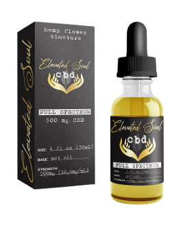 Elevated Soul CBD Tincture 500mg 30ml