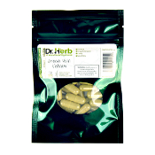 Dr. Herb Kratom Capsules Bag Green Vein Vietnam 30ct