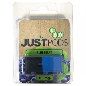 Just CBD Flavor Pods Blueberry 100mg 1 pk.