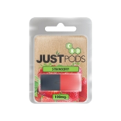 Just CBD Flavor Pods Strawberry 100mg 1pk.