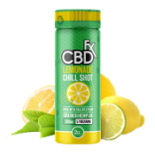 CBDfx Lemonade Chill Shot 2oz 200mg 6ct
