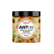 Just CBD Sugar Free Gummy Bears Jar 500mg