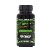 Hemp Bombs CBD Capsules Bottle 375mg 25ct