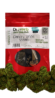 Dr. Herb Flower CBD Cherry Wine 16.49% 3.5g