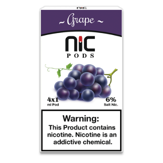 NiC Pods Grape 4pk