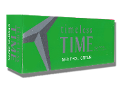 Time Menthol Green Bx Ks