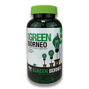 Bumble Bee Kratom Capsules Jar Green Borneo 300ct