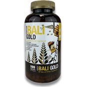 Bumble Bee Kratom Capsules Jar Bali Gold 500ct