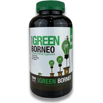 Bumble Bee Kratom Capsules Jar Green Borneo 500ct
