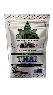 OPMS Kratom Powder Bag Thai 1oz