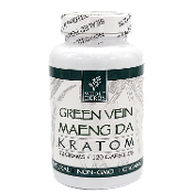 Whole Herbs Kratom Capsules Bottle Maeng Da 60 Grams 120ct