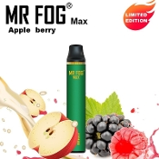 MR FOG Max Disposable Apple Berry 1000 Puff 3.5ml