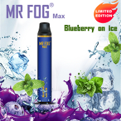 MR FOG Max Disposable Blueberry on Ice 1000 Puff 3.5ml