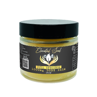 Elevated Soul CBD Body Butter 1000mg 2oz