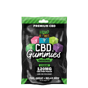 Hemp Bombs CBD Gummies Display 120mg 12/8ct